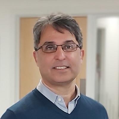 Portrait of Dr Matloob Piracha