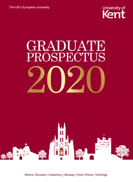 Front cover image of 2020 Postgraduate Prospectus (for courses starting in spring)