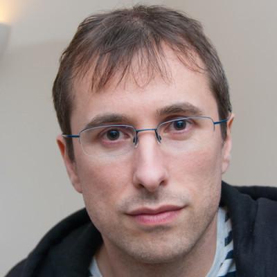 Portrait of Tim Bishop