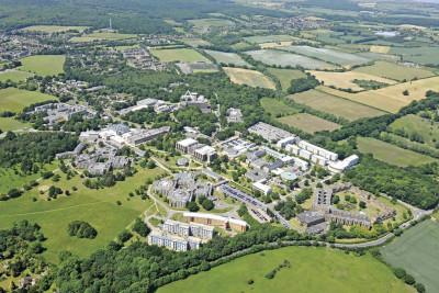 Canterbury aerial view
