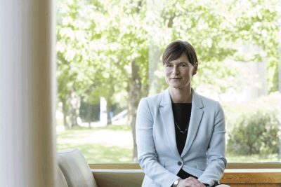 University of Kent Vice Chancellor Karen Cox