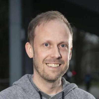 Portrait of Dr Ben Goult