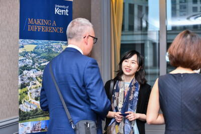 University of Kent event with international partners