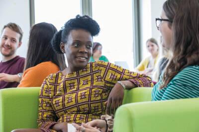 Female black Kent postgraduate student