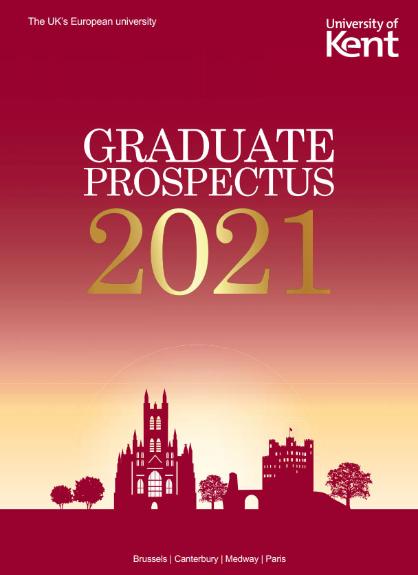 Front cover image of 2021 Postgraduate Prospectus