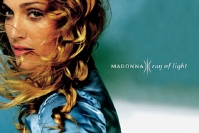 Madonna album cover to Ray of Light