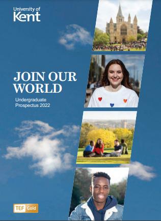 Front cover image of 2022 Undergraduate Prospectus