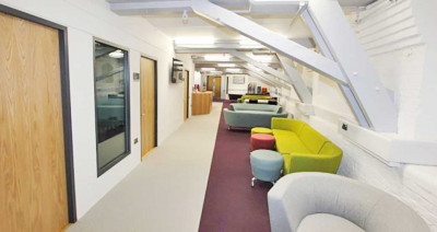 Comfortable and modern furniture in the Sail and Colour Loft Building in Medway