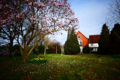 Exterior shot of Beverley Farm