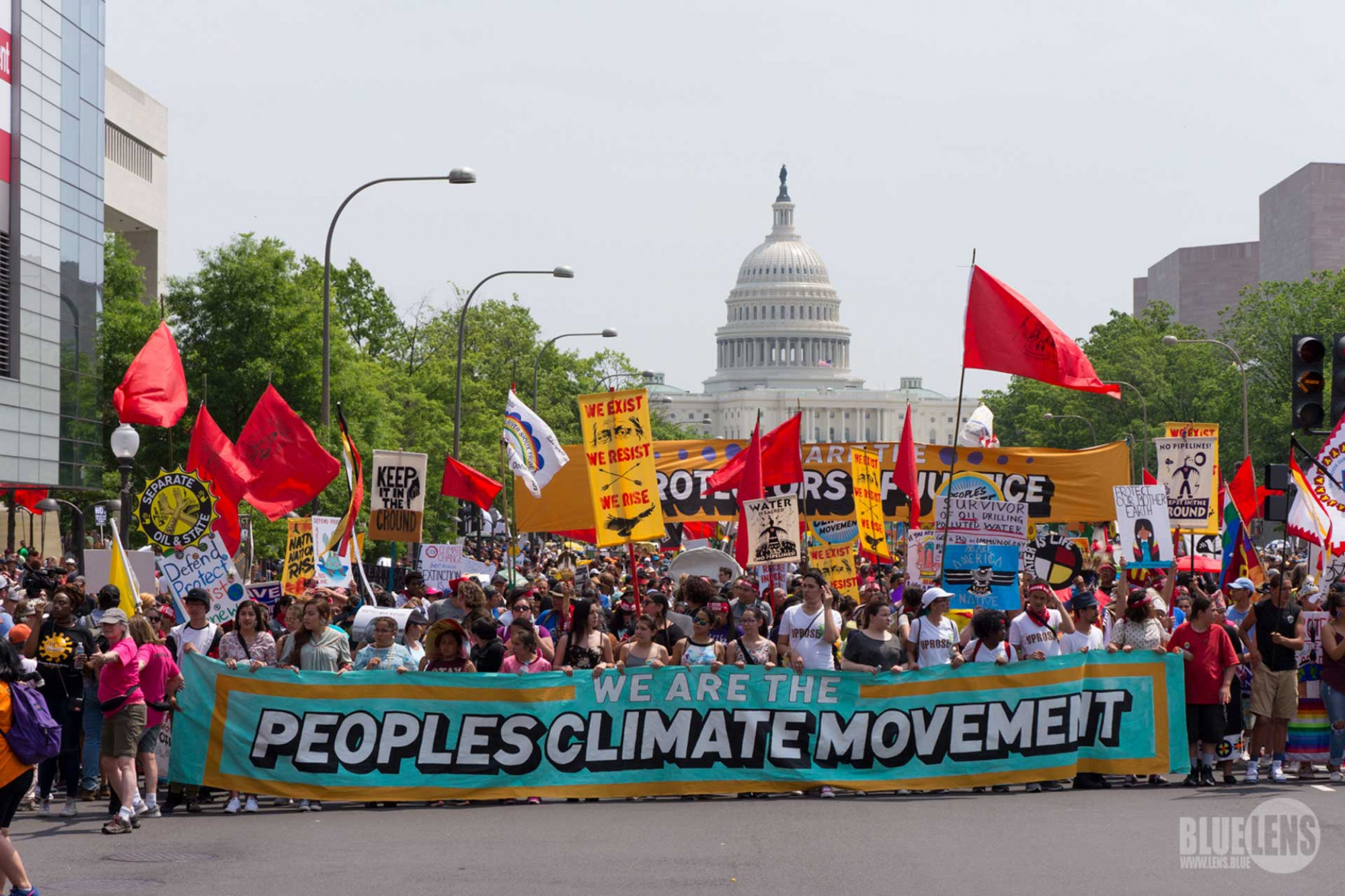 People's Climate March, Washington DC, March 2017