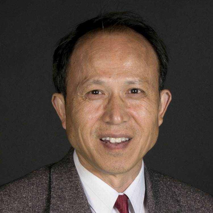 Portrait of Professor Jiangzhou Wang