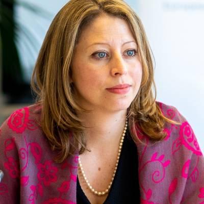 Portrait of Sonya Reines-Djivanides
