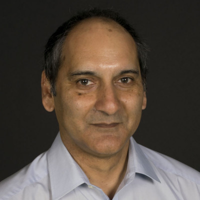 Portrait of Professor Nathan Gomes