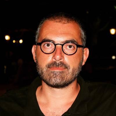 Portrait of Dr Thanos Zartaloudis