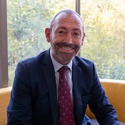 Portrait of Professor Nicholas Clarke