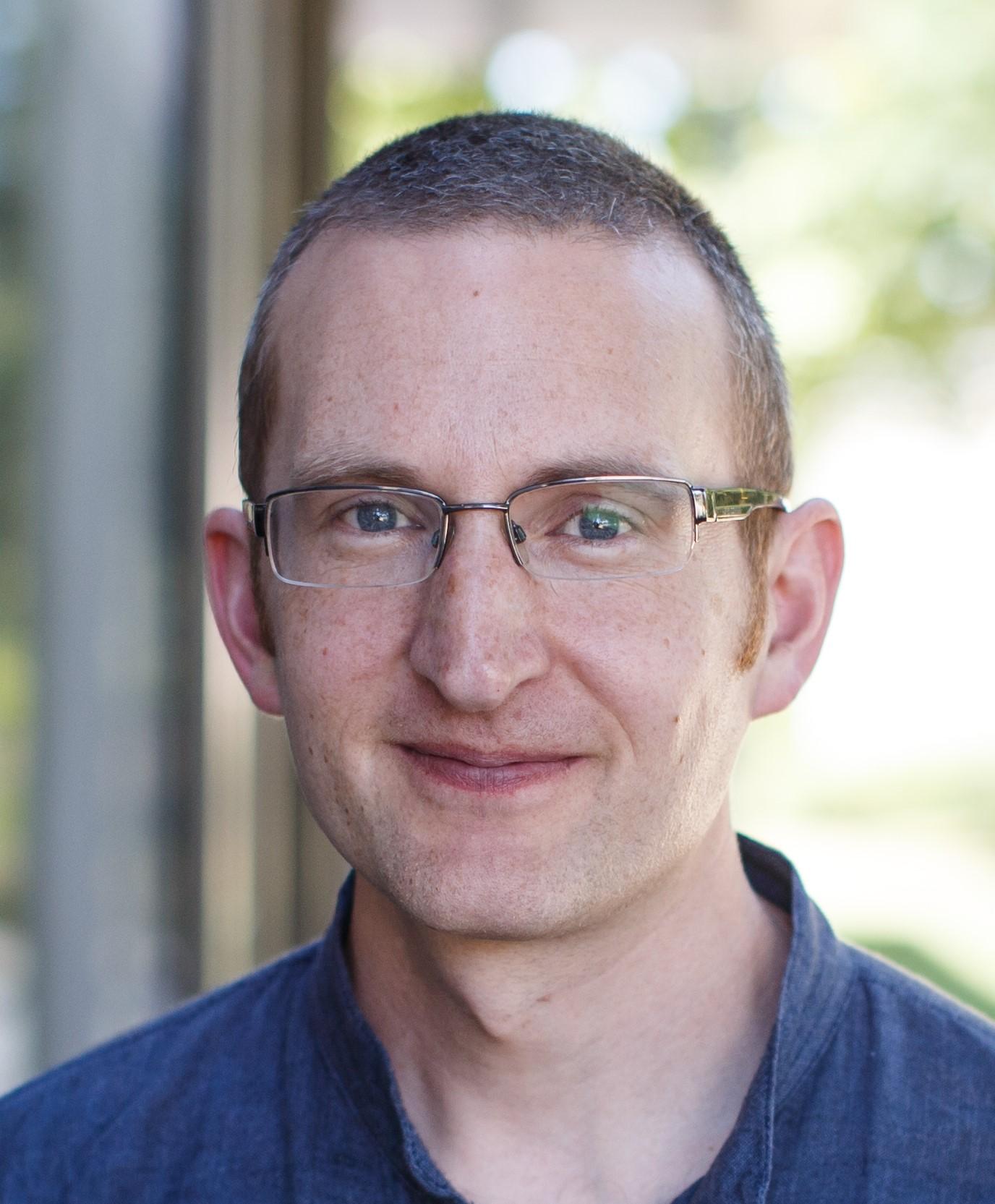 Portrait of Dr Nick Gore