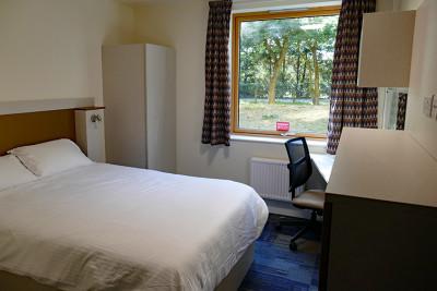 Park Wood flats bedroom