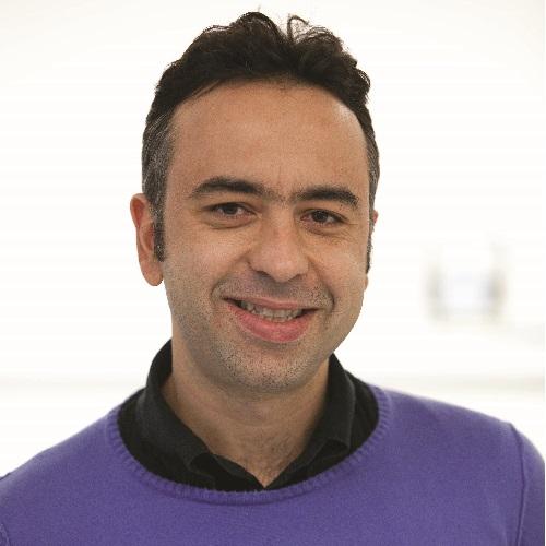 Portrait of Dr Sakis Pappous