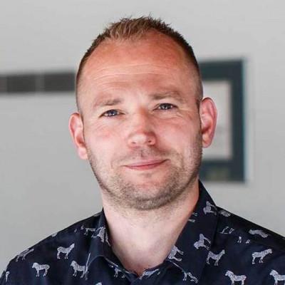 Portrait of Professor Markus Bindemann