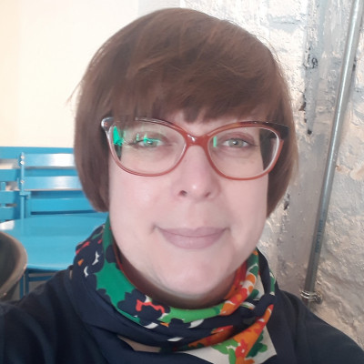 Portrait of Dr Lesley Alborough