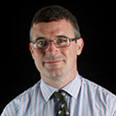 Portrait of Dr Des Laffey