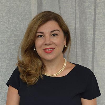 Portrait of Dr Kathy Kotiadis
