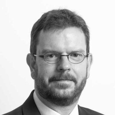 Portrait of Dr Chris Downes