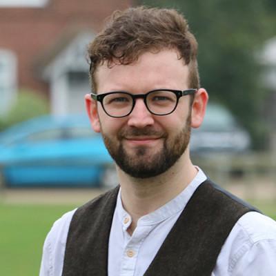 Portrait of Dr Ben Hickman