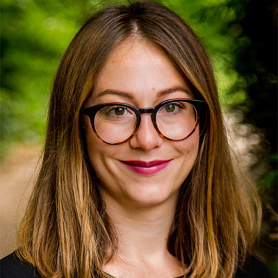 Portrait of Dr Raluca Popp