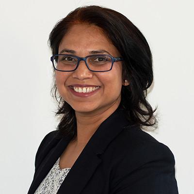 Portrait of Dr Manjusha Hirekhan