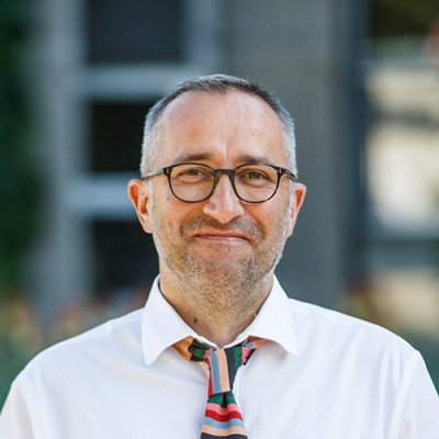 Portrait of Professor Vybarr Cregan-Reid