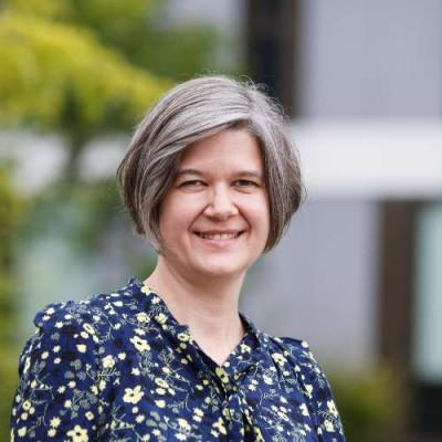 Portrait of Professor Ellen Swift FSA