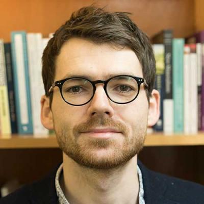 Portrait of Dr Derek Ryan