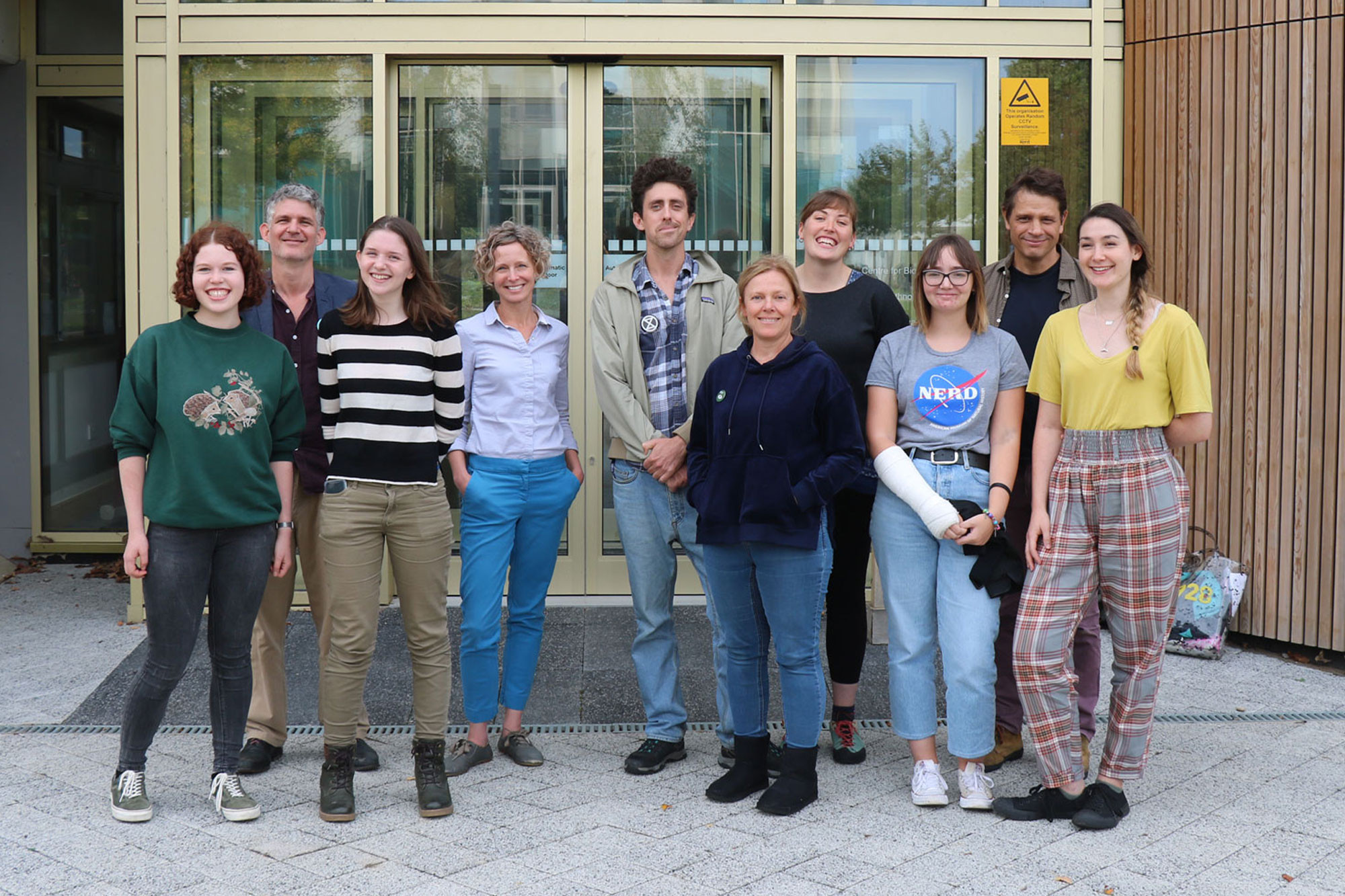 Members from the Sustainability Working Group