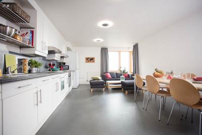 Woolf College kitchen