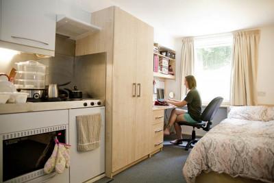 Woolf college studio flat