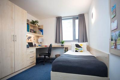 Keynes Flats single bedroom