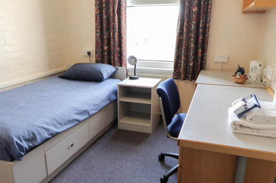 Rutherford College bedroom
