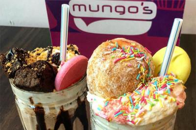 Two of Mungo's delicious freakshakes